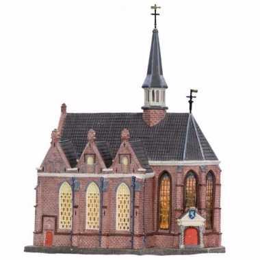 Kersthuisje grote kerk uit leeuwarden