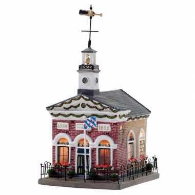 Kersthuisje kerk uit dokkum