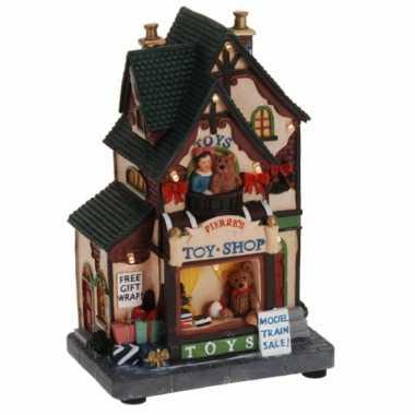 Kersthuisje pierre's speelgoedwinkel