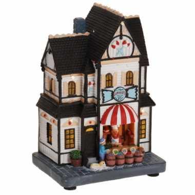 Kersthuisje snoepwinkel